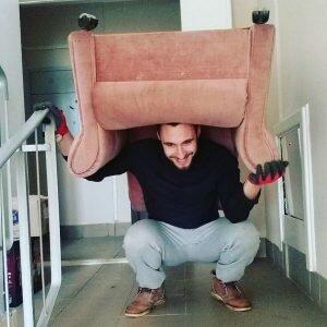 подъем мебели на этаж